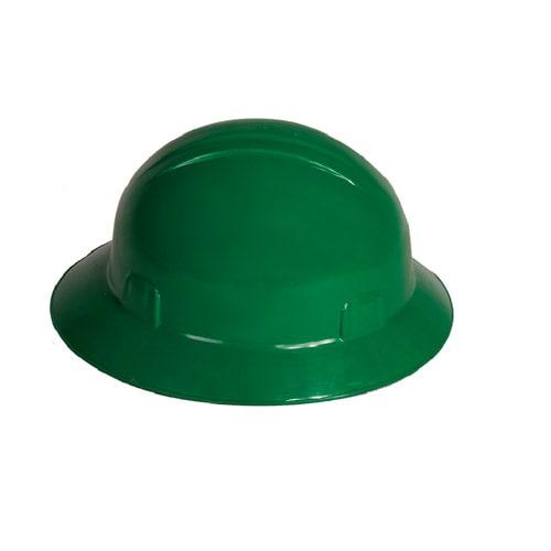 Casco Ala Ancha Verde